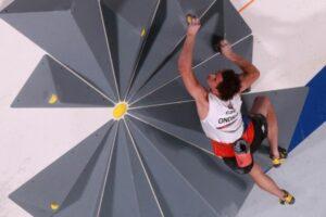 オリンピックボルダリングと旭日旗